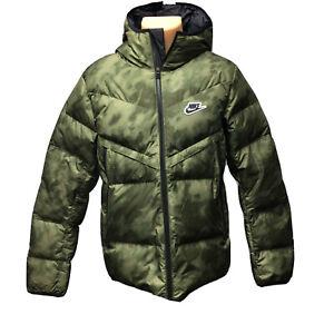 Nike Sportswear Down Fill Windrunner (Men's Size M) Puffy Warm Jacket Camo Coat
