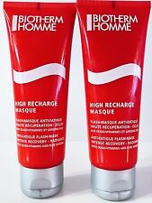 Biotherm Homme High Recharge Masque 2 Stück's  2 x 75 ml = 150ml Flash Mask