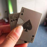 Poker Style Windproof Torch Money Detector Cigar Cigarette Lighter Butane Gas