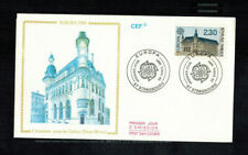 Fdc-1489*France 1990 *L'ancienne postede Cerizay - Fdc w Cef Cachet