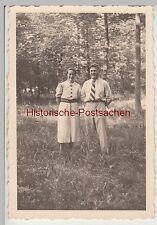 (F9280) Orig. Foto Eickhorst (Vordorf), Paar im Wald 1937