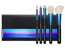 NIB MAC Enchanted Eve Cosmetic Makeup 6pc Travel Brush Kit W Bag Set Lot