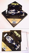 Onyx 1/43 williams renault FW 19 Canada Driver OVP #852