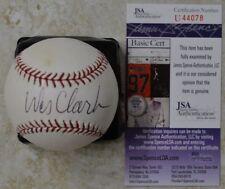 Wesley Clark Signed OMLB Baseball w/ JSA COA #U44078 General Wes