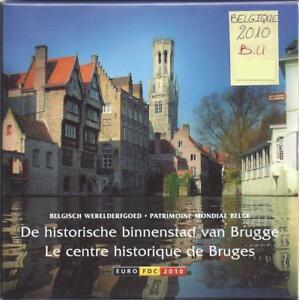 Belgique - Coffret BU - Les Euros de l'Année 2010 - BRUGES
