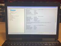 DELL PRECISION 7510  i7 6820HQ 2.7GHZ QUADRO M2000M 512GB SSD 32GB RAM No OS