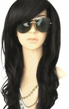 Natural Heat Resistant High Quality Womens Black Wig, Stylish Pretty Feminine