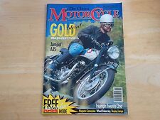 THE CLASSIC MOTORCYCLE MAG NOV 1994 BSA GOLD ROCKET TWIN AJS JAMPOT TRIUMPH 21