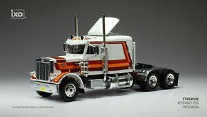 IXO 1/43 TR069 PETERBILT 359 1973 White/Dekor Tracteur camion/truck Tractor Cab