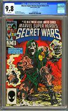 MARVEL SUPER HEROES SECRET WARS #10 CGC 9.8 - WP - NM/MT - CLASSIC DR DOOM COVER