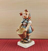 """4 1/3"""" Hummel Goebel Girl with Basket Figurine #73"""