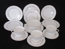 ROYAL WORCESTER 'SILVER CHANTILLY' 14 ASSORTED PIECES 1ST