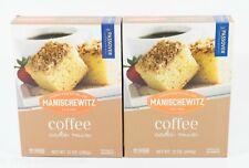 2 Manischewitz Coffee Cake Mix 12 oz box KOSHER 11/18/2021