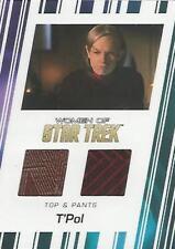 "Women of Star Trek 50th Anniversary: RC10 ""T'Pol"" Costume Card"