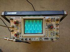 Tektronix 475A 250MHz Oscilloscope, Calibrated, Nice Condition SN: B018204
