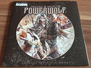 POWERWOLF Malleo + Metalum beast of Gevaudan ( call of the wild ) CD Arch Enemy