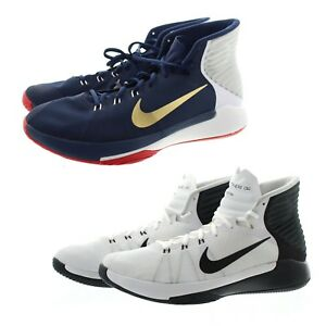 Nike 844787 Mens Prime Hype DF 2016 Performance Basketball Shoes Sneakers, 12