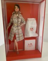 New Coach Barbie Doll NRFB 2013 Designer Doll Collection Gold Label