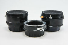 **EXCELLENT** Nikon Extension Tubes E3, PK-3, & M2 for Macro Focusing F Mount