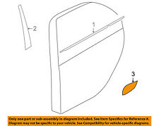 MITSUBISHI OEM 10-15 Lancer Exterior-Rear-Film Right 5228A132