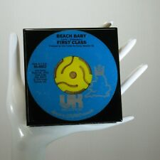 First Class - Music Drink Coaster Made with The Original 45 rpm Record