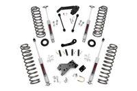 "fits Rough Country 4"" Lift Kit w/Prem N3 Shocks for Jeep Wrangler JK 07-18 4DR"
