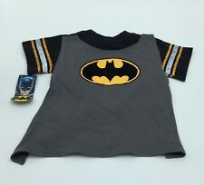 Toddler, BATMAN Shirt, with velcro cape, Size 2T, Black, grey