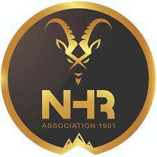 Autocollant rond NHR 2019 - 95 mm Notre Histoire Retrouvée