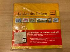 LE LIVRE DES TIMBRES 2009 NEUF SOUS BLISTER AVEC TOUS LES TIMBRES FRANCE STAMP