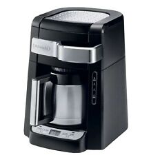 10-Cup Black Stainless Steel Drip Coffee Maker With Thermal Carafe
