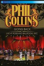 PHIL COLLINS - GOING BACK: LIVE AT ROSELAND BALLROOM,NYC  DVD NEW+