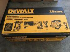 DEWALT DCK592L2 20V MAX Cordless 5-Tool Premium Combo Kit, NIB