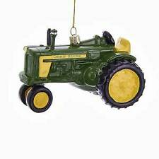 John Deere™ Glass Tractor Ornament w