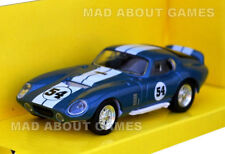 SHELBY COBRA DAYTONA COUPE 1:43 Car Model Die Cast Metal Models Miniature Blue