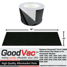 Honeywell Replacement 24000 Prefilter Odor Absorber Carbon Wrap By GoodVac