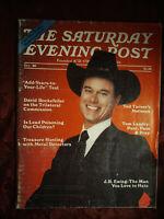 Saturday Evening POST Magazine October 1980 LARRY HAGMAN TED TURNER