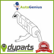 MARMITTA SILENZ. POS CATALIZZATORE SMART FORTWO Coupé 0.7 04>07 DYPARTS 35902