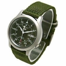 Belle montre SEIKO MILITARY Nylon SNK805K2 Watch
