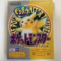 Nintendo Gameboy Pikachu Pokemon Yellow Version Pocket monsters GB Japan  box