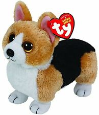 TY OTIS THE CORGI DOG 15CM BEANIE BABIES SOFT TOY 36 MONTHS+ WITH HEART TAG