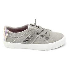 New Blowfish Sneaker Womens Fruit, Wolf Gray Smoked Size 7 Canvas Sneaker Shoe