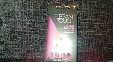 Elegant Touch Color Drench uñas color de rosa caliente