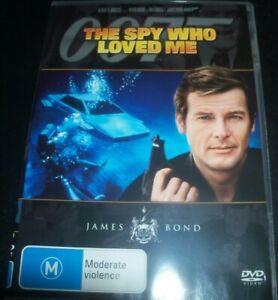 The Spy Who Loved Me - James Bond 007 (Australia Region 4) DVD – Like New