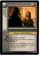 7R80 ANDURIL, KING'S BLADE LORD OF THE RINGS, LoTR RETURN OF THE KING RARE CARD