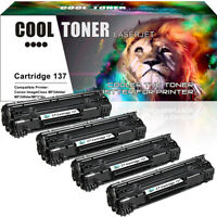 4 CRG137 Toner Cartridge for Canon 137 ImageClass MF227dw MF212w MF232w MF244dw