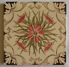 Antique English Floral Tiles