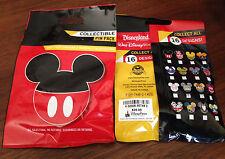 Disney Collectible Pin Pack (Disney Icons) - New Packet - 5 Random Selected Pins