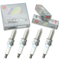 4 pc 4 x NGK Laser Iridium Plug Spark Plugs 1402 SILKR8A-S 1402 SILKR8AS mq