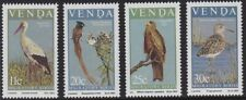 VENDA 1984 BIRDS MIGRATORY STORK FLYCATCHER KITE SANDPIPER SET MNH