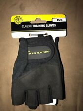 Gold's Gym Classic Training Glove XS/S Workout Weightlifting Exercise Gym